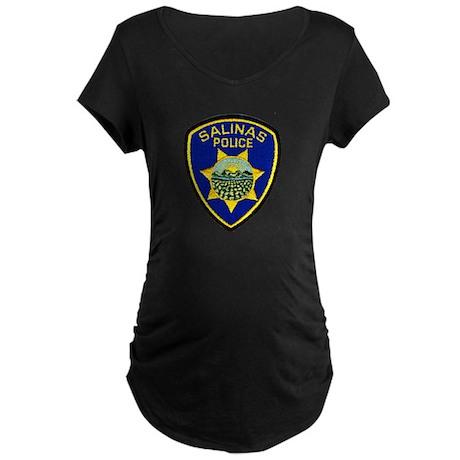 Salinas Police Maternity Dark T-Shirt