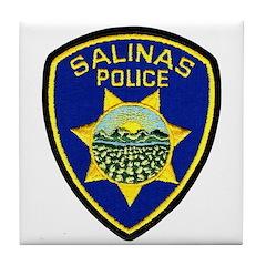 Salinas Police Tile Coaster