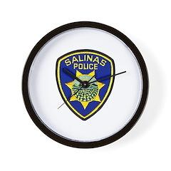 Salinas Police Wall Clock