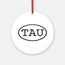 TAU Oval Ornament (Round)