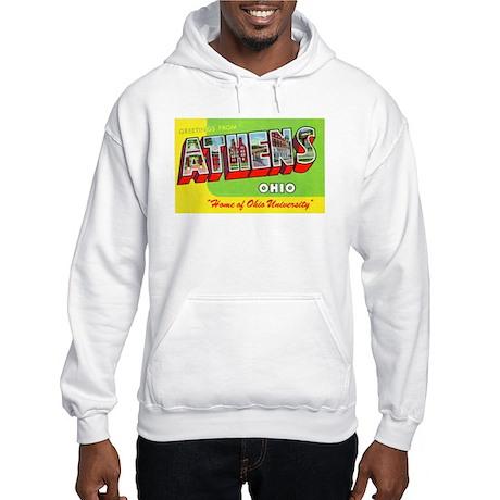 Athens Ohio Greetings Hooded Sweatshirt