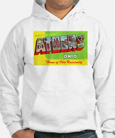 Athens Ohio Greetings Hoodie