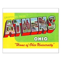 Athens Ohio Greetings Posters