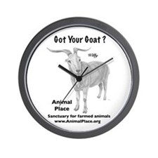 Goat Your Goat? Wall Clock