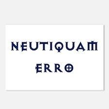 Neutiquam Erro Postcards (Package of 8)
