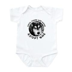 DOG ADOPTION Infant Bodysuit