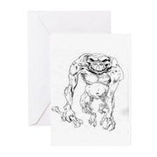 Cute Troll lord games Greeting Cards (Pk of 10)