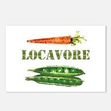 Locavore 2 Postcards (Package of 8)