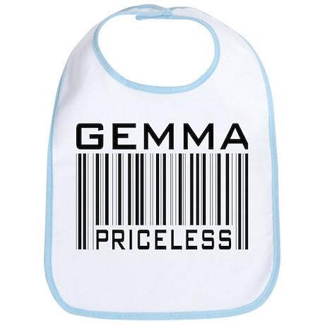 Gemma First Name Priceless Bib