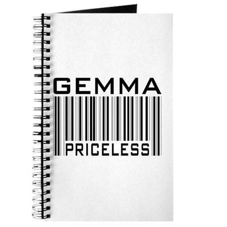 Gemma First Name Priceless Journal