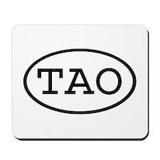 TAO Oval Mousepad
