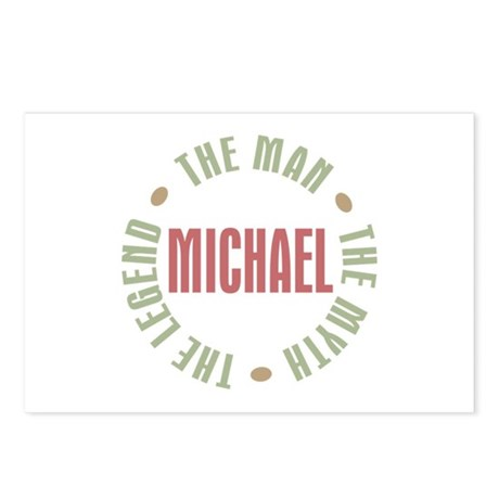 Michael Man Myth Legend Postcards (Package of 8)