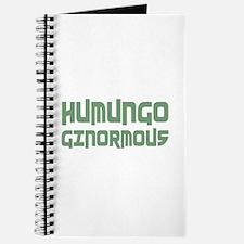 Humungo Ginormous BIG Journal