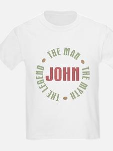 John Man Myth Legend T-Shirt