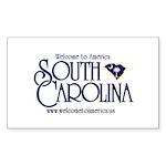 South Carolina Rectangle Sticker
