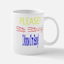 Please Stop Staring Mug