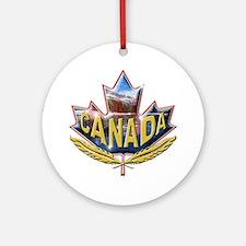 Canada9 Ornament (Round)