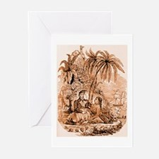 Pirate & Island Maid Cards (Pack of 10)