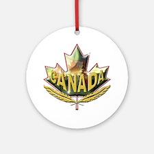 Canada2 Ornament (Round)