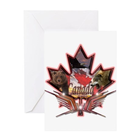 Canada Greeting Card By Sbgraphics