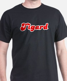 Retro Tigard (Red) T-Shirt