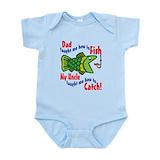Dad uncle fish Baby
