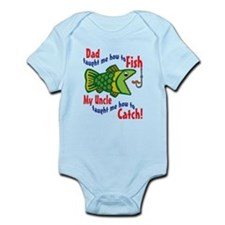 Dad Uncle Fish Infant Bodysuit