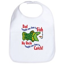 Dad Uncle Fish Bib