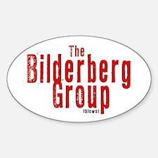 Bilderbergs Oval Decal