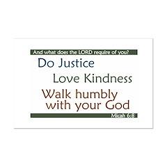 Micah 6:8 Posters