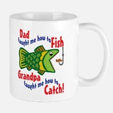 Dad Grandpa Fishing Mug