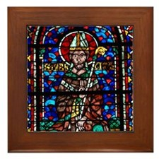 Riverside Church Framed Tile