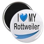 I Love My Rottweiler Magnet
