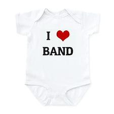 I Love BAND Infant Bodysuit