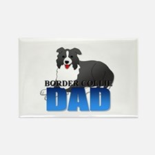 Border Collie Rectangle Magnet (100 pack)
