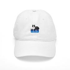 Border Collie Dad Baseball Cap