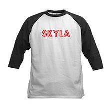 Retro Skyla (Red) Tee