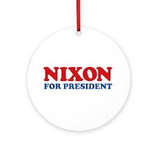 Nixon Ornament (Round)