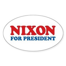 Nixon Oval Decal