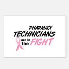 Pharmacy Technicians In The Fight Postcards (Packa