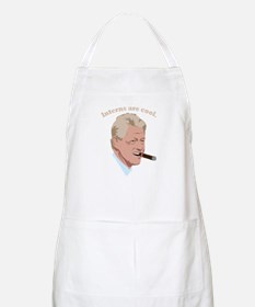 Interns are cool. BBQ Apron