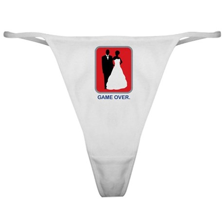 Game Over Classic Thong