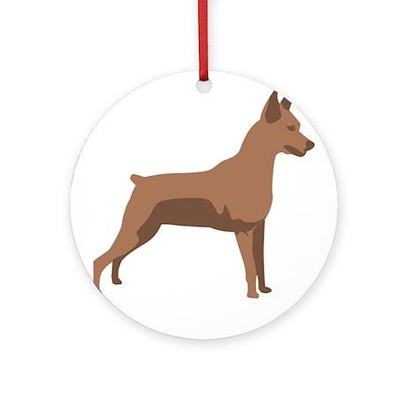 Min Pin Ornament (Round)