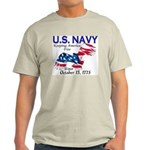 U.S. Navy Freedom Isn't Free Ash Grey T-Shirt