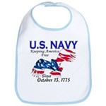 U.S. Navy Freedom Isn't Free Bib