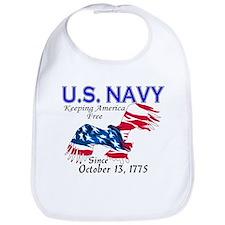U.S. Navy Freedom Isn't Free Bib