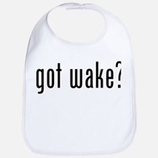 got wake? Bib