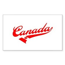 Oh Canada Rectangle Decal