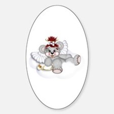 LITTLE ANGEL 1 Oval Decal