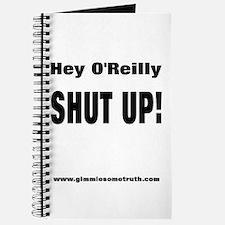 Bill O'Reilly Shut Up Journal